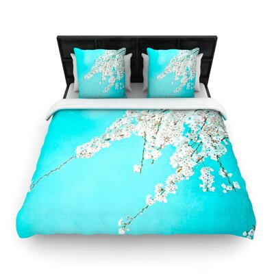 Monika Strigel Hanami Woven Duvet Cover Size: Full/Queen