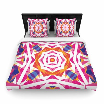 Paradise Woven Duvet Cover Size: Twin