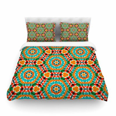 Miranda Mol Hexagon Tiles Pattern Featherweight Duvet Cover Size: Twin