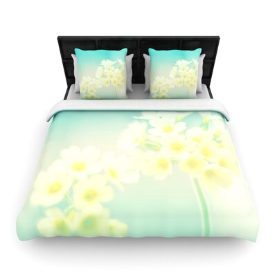 Monika Strigel Happy Spring Woven Duvet Cover Size: King