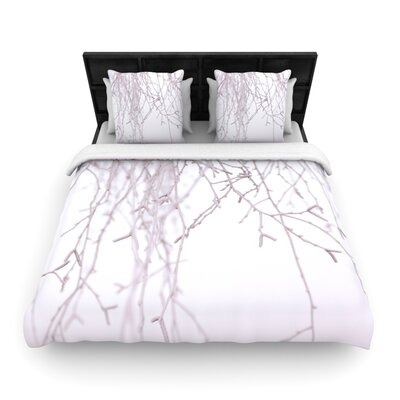 Monika Strigel Frozen Woven Duvet Cover Size: Twin