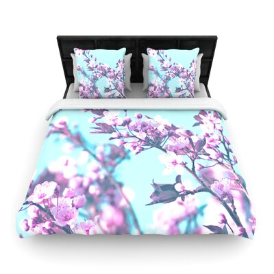 Monika Strigel Cherry Phantasy Woven Duvet Cover