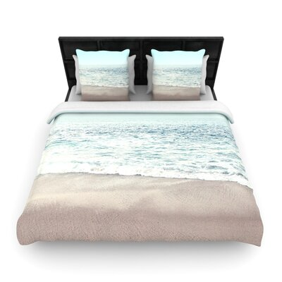 Monika Strigel the Sea Coastal Woven Duvet Cover Size: Full/Queen