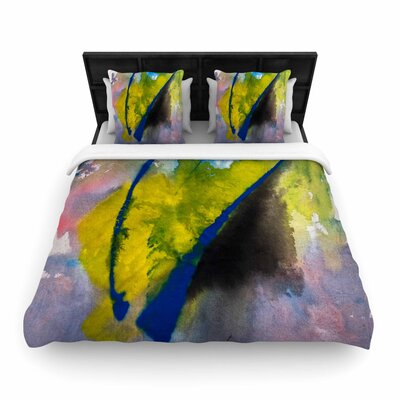 Malia Shields Exploration Woven Duvet Cover Size: Twin