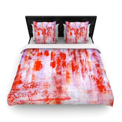 Malia Shields Painted Cityscape Woven Duvet Cover Size: Full/Queen