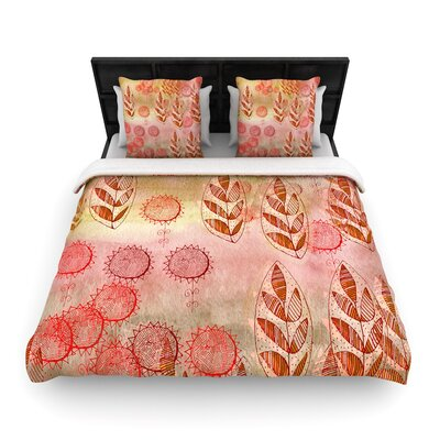 Marianna Tankelevich Summer Music Woven Duvet Cover Size: King