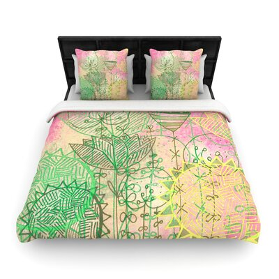 Marianna Tankelevich Dream Woven Duvet Cover Size: Full/Queen