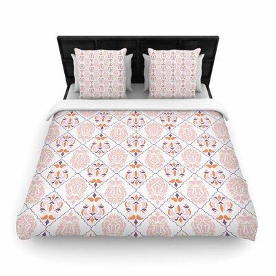 Neelam Kaur Modern Reminisence Woven Duvet Cover Size: Full/Queen