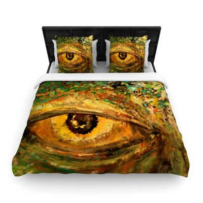Nathan Gibbs Art Eye of the Storm Woven Duvet Cover Size: Twin