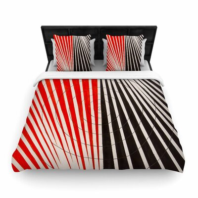 NL Designs Optical Illusions Woven Duvet Cover Size: Full/Queen