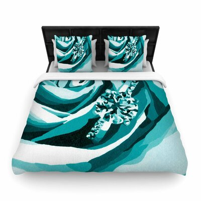 Nl Designs Happy Engagement Tiffany Woven Duvet Cover Size: Full/Queen