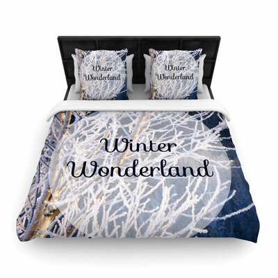 NL Designs Winter Wonderland Woven Duvet Cover Size: Twin
