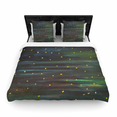 NL Designs Star Fields Woven Duvet Cover Size: Twin