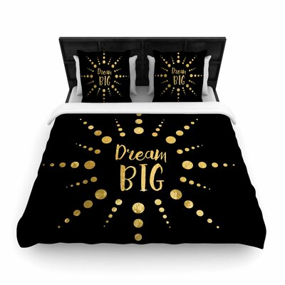 NL Designs Dream Big Woven Duvet Cover Size: Full/Queen