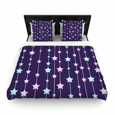 NL Designs Twinkle Twinkle LIttle Star Woven Duvet Cover Size: Twin