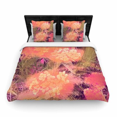 Nina May Wildflowers Woven Duvet Cover Size: Twin