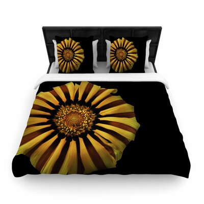 Nick Nareshni Flower Floral Photography Woven Duvet Cover Size: Twin