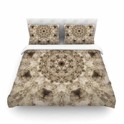 Nick Nareshni Sandy Beach Mandala Pattern Featherweight Duvet Cover Size: King