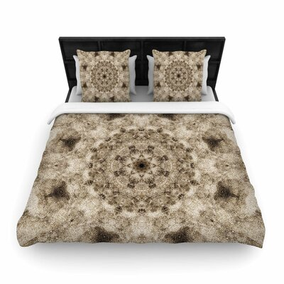 Nick Nareshni Sandy Beach Mandala Pattern Woven Duvet Cover Size: Twin