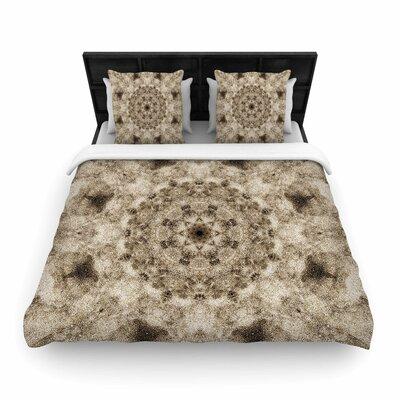 Nick Nareshni Sandy Beach Mandala Pattern Woven Duvet Cover Size: King