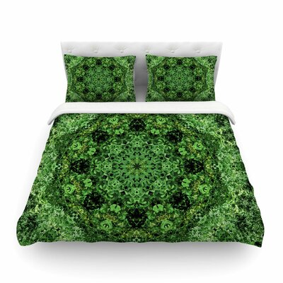 Nick Nareshni Forest Mandala Geometric Featherweight Duvet Cover Size: Twin