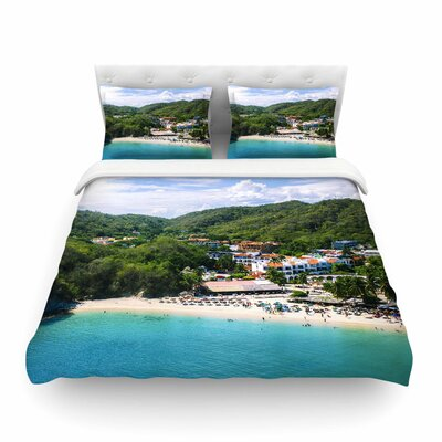 Nick Nareshni Forest on the Beach Photography Featherweight Duvet Cover Size: Twin