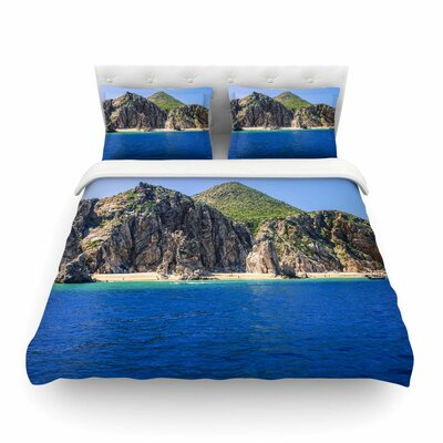 Nick Nareshni Stone Hills Coastline Photography Featherweight Duvet Cover Size: King
