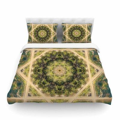 Nick Nareshni Forest Mandala Geometric Featherweight Duvet Cover Size: Twin