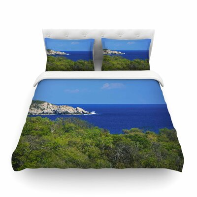 Nick Nareshni Forest to the Ocean Photography Featherweight Duvet Cover Size: King