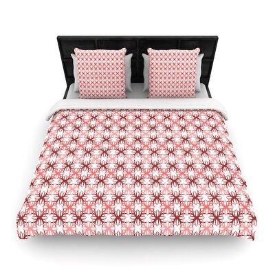 Nandita Singh Motifs Geometric Woven Duvet Cover Size: Full/Queen