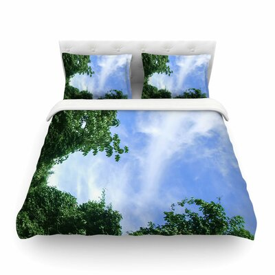 Nick Nareshni Forest in the Sky Photography Featherweight Duvet Cover Size: King