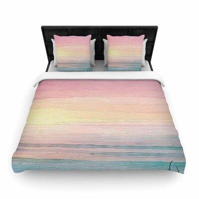 Oriana Cordero Capri Woven Duvet Cover Size: Twin
