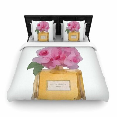 Oriana Cordero Eau de Parfum V3 Woven Duvet Cover Size: King