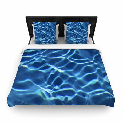 Philip Brown Pool Woven Duvet Cover Size: Twin