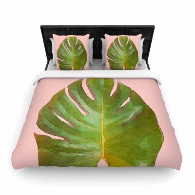 Oriana Cordero Tropico Woven Duvet Cover Size: Twin
