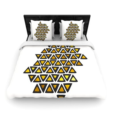 Pom Graphic Design Inca Tribe Woven Duvet Cover Size: Full/Queen
