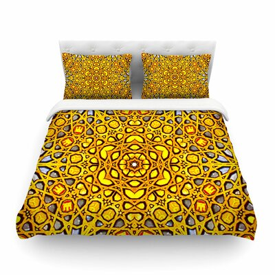 Philip Brown Kaleidoscope Featherweight Duvet Cover Size: King