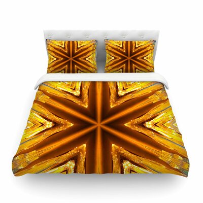Philip Brown Star Icicles Featherweight Duvet Cover Size: King