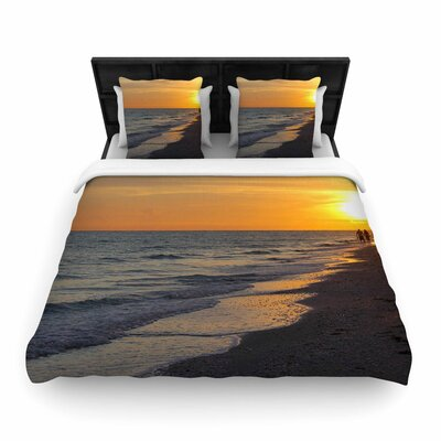 Philip Brown Sunset Beach Woven Duvet Cover Size: Twin