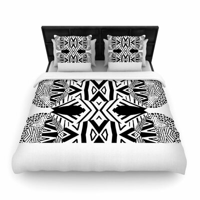 Pom Graphic Design Ocean Vibes Woven Duvet Cover Size: Twin