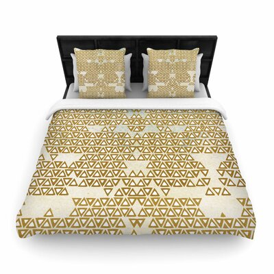 Pom Graphic Design Empire Geometric Woven Duvet Cover Size: Twin