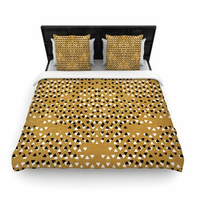 Pom Graphic Design Sky Woven Duvet Cover Size: King