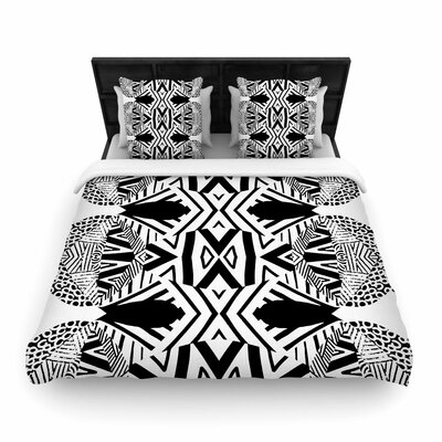 Pom Graphic Design Africa Woven Duvet Cover Size: Full/Queen