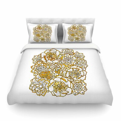 Pom Graphic Design Bohemian Succulents II Floral Featherweight Duvet Cover Size: King