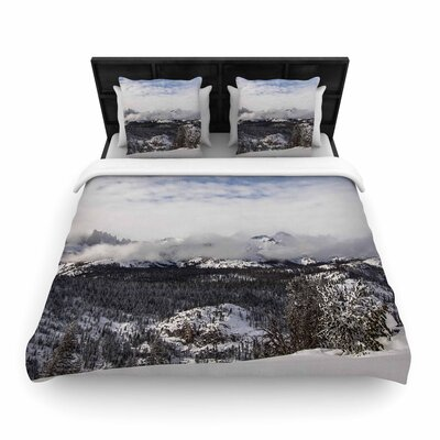 Juan Paolo Top of the Summit Woven Duvet Cover Size: Twin