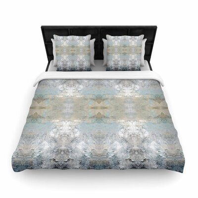 Pia Schneider Heavenly Bird III Pattern Woven Duvet Cover Size: Full/Queen