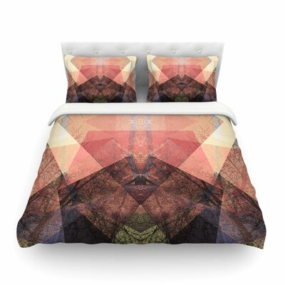 Pia Schneider Pattern Garden No3 Geometric Featherweight Duvet Cover Size: King