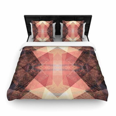 Pia Schneider Pattern Garden No3 Geometric Woven Duvet Cover Size: Full/Queen