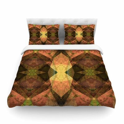 Pia Schneider Pattern Garden No1 Geometric Featherweight Duvet Cover Size: King
