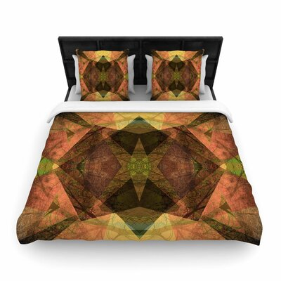 Pia Schneider Pattern Garden No1 Geometric Woven Duvet Cover Size: Full/Queen